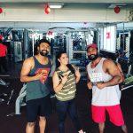 Shanthanu, varalaxmi, fitness, gym, varalakshmi
