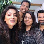 Shriya Saran, friends, actress, selfie