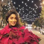 Shriya Saran, hd, wallpaper, flower