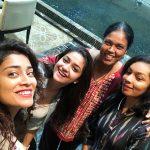 Shriya Saran, selfie, keerthy suresh, bindha master
