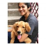Simran Choudhary, dog, pet