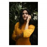 Simran Choudhary, yellow dress