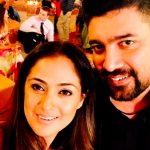 Simran, husband, selfie, hd, family