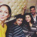 Simran, selfie, friends, actress