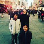 Simran, vacation, son, actress