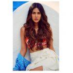 Sonam Bajwa, loose hair