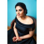Sreemukhi, black dress, fabulous