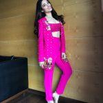 Tamannaah Bhatia, pink dress, hd, photoshoot,