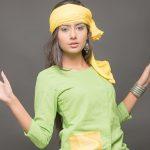 Twinkle Meena, green dress, naughty