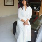 Varalaxmi Sarathkumar, white dress, actress, sarkar