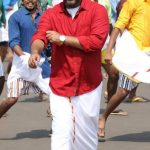 Viswasam, Ajith Kumar, hd, red dress, actor, vetti sattai
