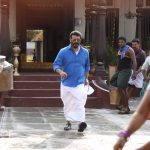Viswasam, Ajith Kumar, mass, walking, blue dress