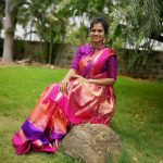 ramya pandian, saree, traditional look, saree love