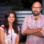 ramya pandian, sathyaraj, actor, celebrities