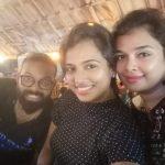 ramya pandian, selfie, famile, akka, sister