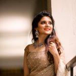 Aathmika, hd, tamil actress, saree, Naragasooran