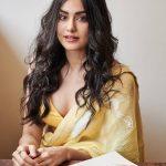 Adah Sharma, Photo Shoot, saree, kissable