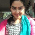 Aditi Ravi, Naam Actress, car, face, selfie