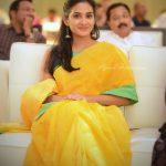 Aditi Ravi, Tick Tock Heroine, function, pose, yellow
