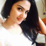 Aditi Ravi, white dress, selfie, pretty