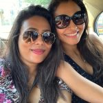 Andrea Jeremiah, selfie, friends, actress
