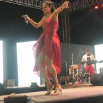 Andrea Jeremiah, singing, stage, singer