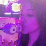 Anjali, minions, kiss, colourful