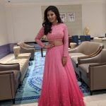 Anjali, pink, pink dress, tamil actress