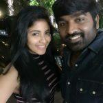Anjali, vijay sethupathi, selfie