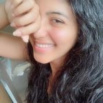 Anjali, without makeup, smile, cute