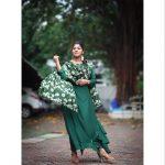 Aparna Balamurali, Aadujeevitham Actress, green dress, unseen