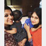 Aparna Balamurali, Anandamargam Actress, selfie, friend, kids
