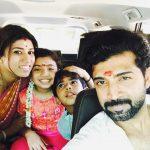 Arun Vijay, family, hd, wallpaper