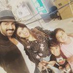 Arun Vijay, vacation, tour, family, actor
