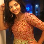Athulya Ravi, Suttu Pidikka Utharavu Heroine, night, function, glamorous