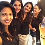 Bindu Madhavi, Kazhugu 2 Actress, black dress, friends