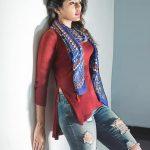 Eesha Rebba, Savyasachi Actress, red dress, marvelous