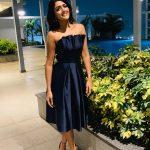 Eesha Rebba, black dress, endearing