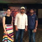 Karthi, Dev Actor, thamanna, movie promotion