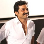 Karthi, white shirt