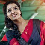 Manju Warrier, Asuran Heroine, red saree, wife
