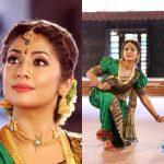 Manju Warrier, Lucifer Actress, green saree