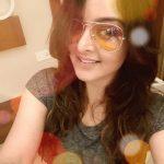 Manju Warrier, Lucifer Actress, selfie, top view