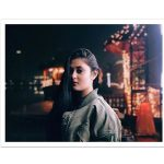 Megha Chowdhury, Varma Heroine, street, night