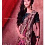 Megha Chowdhury, photo shoot, saree