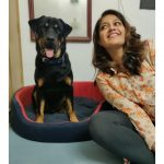 Meghana Raj, Onti Heroine, black dog, fashionable