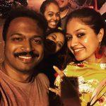 Meghana Raj, Onti Heroine, road, family, smile