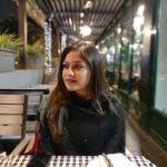Meghana Raj, classy look