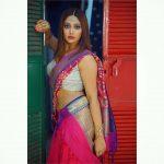 Natasha Doshi, Jai Simha Actress, saree, glamour