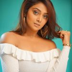 Natasha Doshi, Jai Simha Actress, white dress